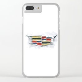 Cadillac #1 Clear iPhone Case