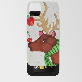Wishing Rudolf  iPhone Card Case