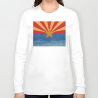 arizona Long Sleeve T-shirts featuring Arizona by Michael Creese