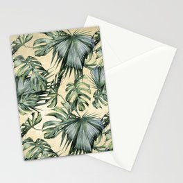Palm Leaves Classic Linen Stationery Cards