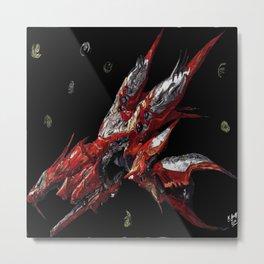 Ragnarok Final Fantasy Metal Print