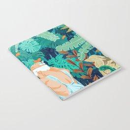 Backyard #illustration #painting Notebook