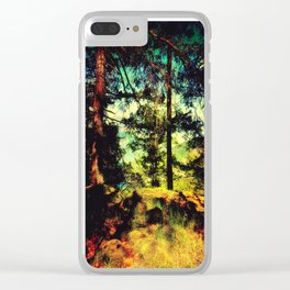 Magic Place, Stoney Hill, Vancouver Island Clear iPhone Case