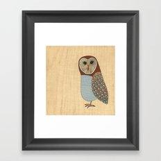 The wise Framed Art Print