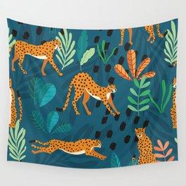 Cheetah pattern 001 Wall Tapestry