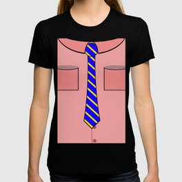 Pink shirt and tie T-shirt