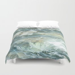 Cushion me soft, rock me billowy drowse, Dash me with amorous wet. Duvet Cover