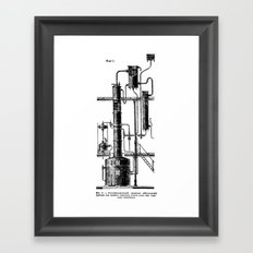 Brockhaus-Efron Distillery 6 Framed Art Print