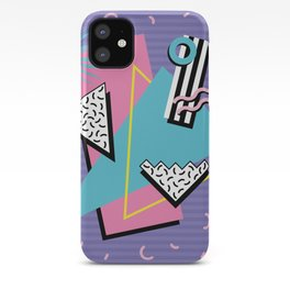 Memphis Pattern 57 - 80s - 90s Retro / 2nd year anniversary design iPhone Case