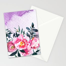 Flowers Bouquet 88 Stationery Cards