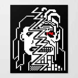 Teletext Monster Girl Canvas Print