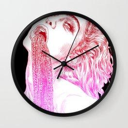 Anemoia Wall Clock