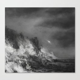 Maglor casts away the Silmaril Canvas Print