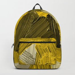 30    | Abstract Expressionism| 210210| Digital Abstract Art Textured Oil Painting Backpack