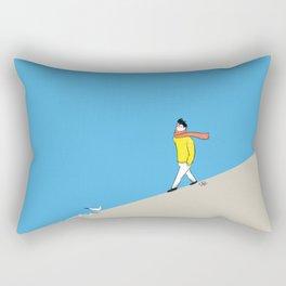 Sea of healing Rectangular Pillow