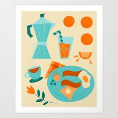 Most Important Meal Art Print