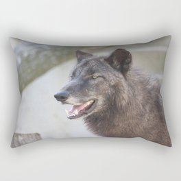 This is my Tuesday face Rectangular Pillow
