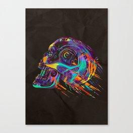 T-800 Skull Canvas Print