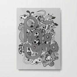 Piktorame tribute. Metal Print
