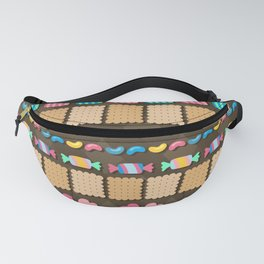 Sugar Madness Pattern Fanny Pack