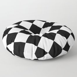 Diamond (Black & White Pattern) Floor Pillow