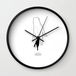 Afraid Wall Clock
