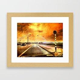 Bridge Over Troubled Water Framed Art Print