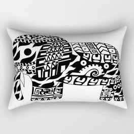 Mr elephant ecopop Rectangular Pillow