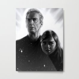 Life Among the Distant Stars (Twelve version) Metal Print