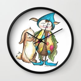 We are Friends Wall Clock
