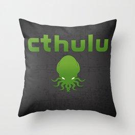 Cthulhu? Throw Pillow