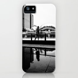 Chicago Bean/ Ice Rink iPhone Case