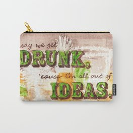 Dos Tequilas, Por Favor Carry-All Pouch