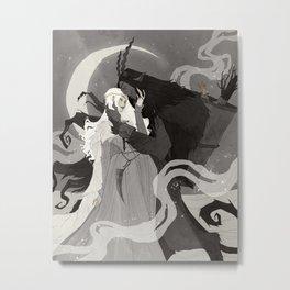Krampus and Perchta III Metal Print