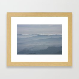 Blue Morning Framed Art Print