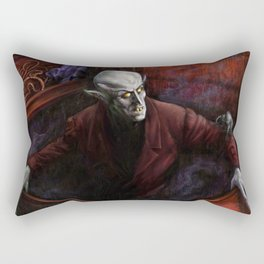 Dracula Nosferatu Vampire King Rectangular Pillow