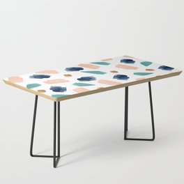 turquoise, navy, pink & gold Coffee Table
