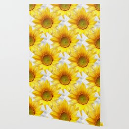 Sunflower Bouquet #decor #society6 #buyart Wallpaper
