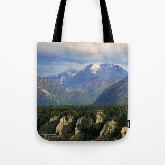 Northern Chugach Mountains Tote Bag
