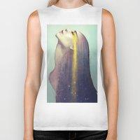 constellation Biker Tanks featuring Constellation by Anna Dittmann