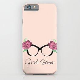 Girl Boss iPhone Case