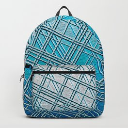 Steel Blue Sky Lines Backpack