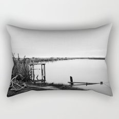 Whitebaiting Rectangular Pillow