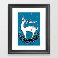 This Christmas Enjoy the Simple Things Framed Art Print