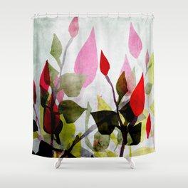 Rosebush Shower Curtain