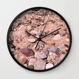 Rocks of San Pedro No. 1 Wall Clock
