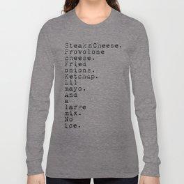 Order up No.3b Long Sleeve T-shirt