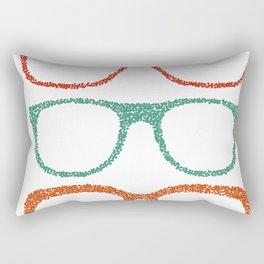 Dot glases Rectangular Pillow