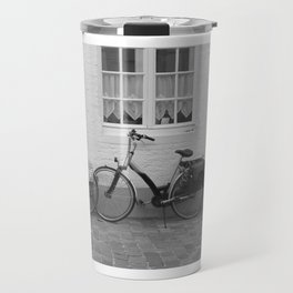 Bicycles in Bruges Travel Mug