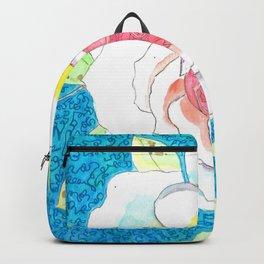 Favorite Rose Watercolor Backpack